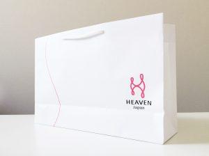 HEAVEN japan 手提げ紙袋